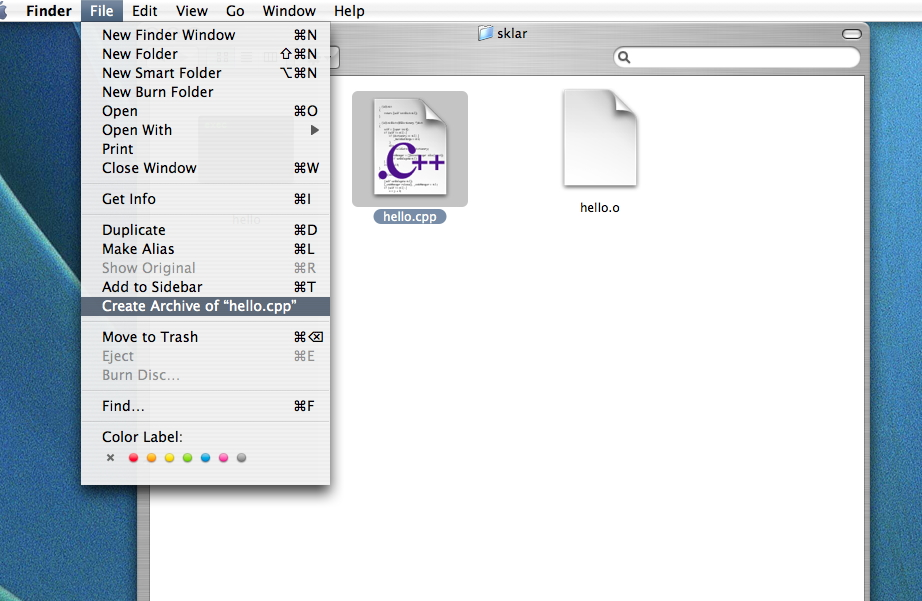 how to change icone of file on mac